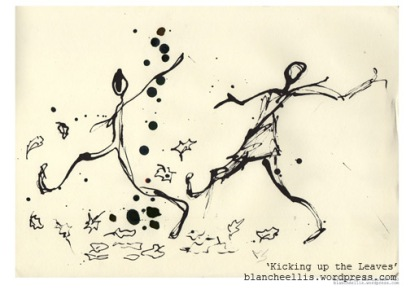 'Kicking Up the Leaves' - '13